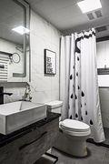 富裕型140平米四室一厅混搭风格卫生间设计图