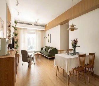 富裕型三室两厅日式风格客厅装修效果图