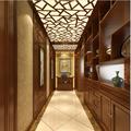 富裕型120平米三中式风格走廊装修图片大全