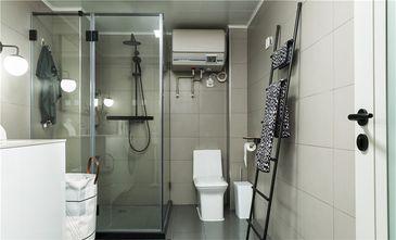 富裕型100平米三室一厅北欧风格卫生间图片