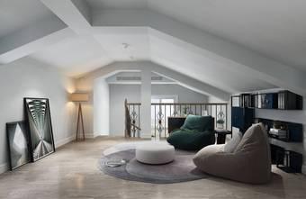 140平米别墅轻奢风格阁楼装修案例