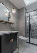 3-5万90平米三室两厅混搭风格卫生间装修案例