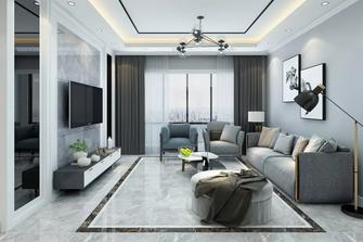 经济型70平米一室一厅田园风格客厅设计图