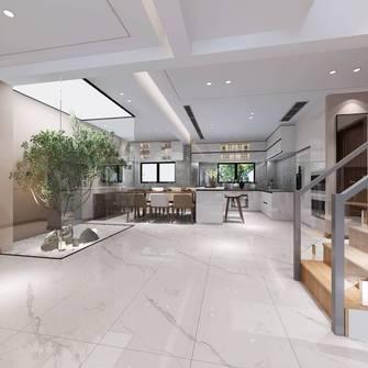 豪华型140平米现代简约风格餐厅欣赏图