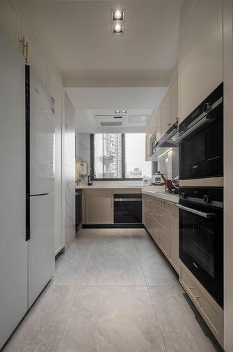 富裕型140平米三室两厅法式风格厨房装修效果图