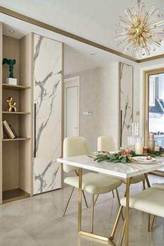 5-10万120平米三室两厅法式风格餐厅装修效果图