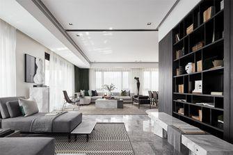 20万以上140平米三室两厅现代简约风格书房图