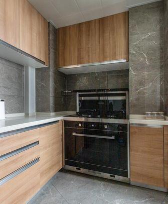 110平米三室两厅现代简约风格厨房欣赏图