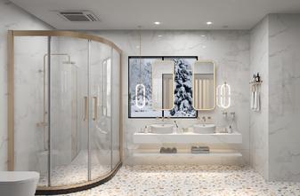 经济型140平米四现代简约风格卫生间设计图