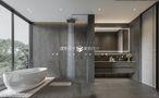 140平米别墅英伦风格卫生间装修图片大全