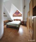 豪华型140平米别墅田园风格卧室设计图