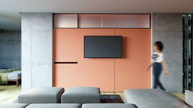 3万以下100平米三室一厅工业风风格客厅装修案例