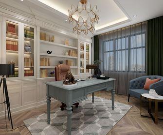 140平米四室两厅法式风格书房图