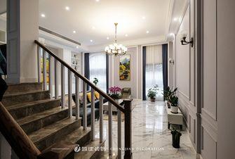 20万以上140平米别墅欧式风格楼梯间图