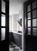 10-15万30平米以下超小户型现代简约风格厨房设计图