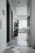110平米三北欧风格走廊装修案例