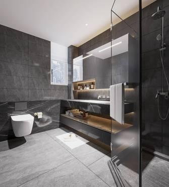 140平米三室一厅中式风格卫生间图片