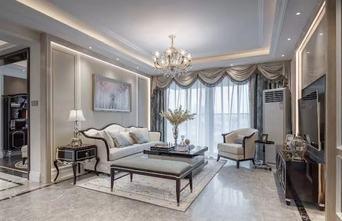 20万以上120平米四欧式风格客厅装修效果图