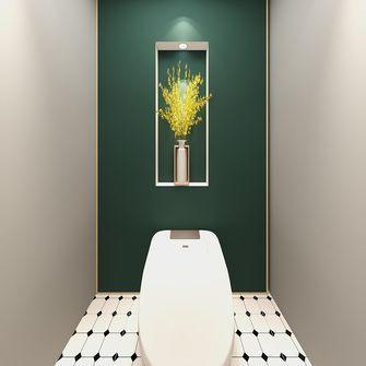 富裕型110平米公寓欧式风格卫生间设计图