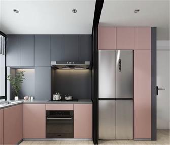 富裕型80平米北欧风格厨房效果图