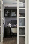 10-15万四室一厅英伦风格书房设计图