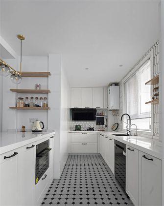 140平米三室两厅混搭风格厨房设计图