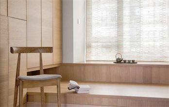 豪华型100平米三室两厅日式风格书房图片大全