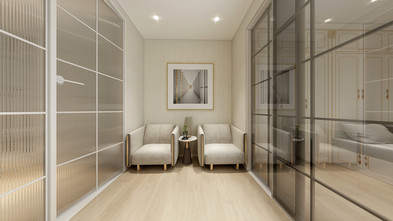 40平米小户型现代简约风格楼梯间设计图