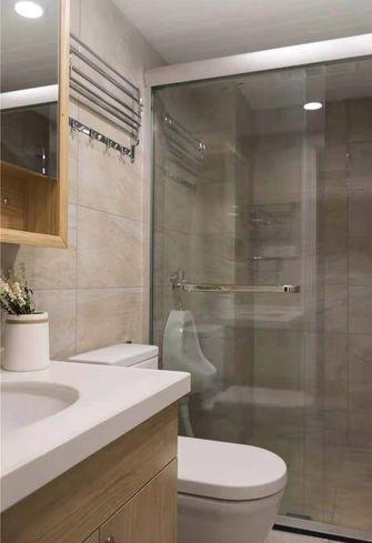 富裕型130平米四室一厅日式风格卫生间设计图