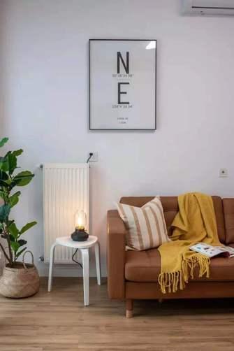 经济型50平米一室一厅北欧风格客厅欣赏图