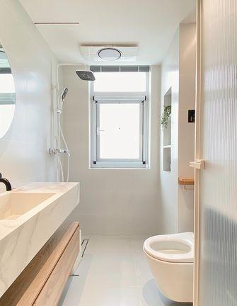 经济型90平米三室两厅北欧风格卫生间装修效果图