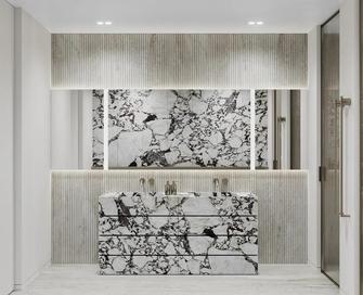 140平米三室两厅轻奢风格卫生间设计图
