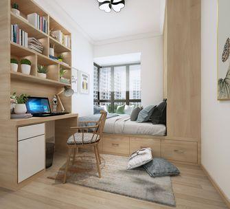 90平米三室两厅北欧风格青少年房图片大全