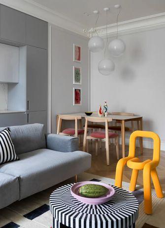 10-15万110平米三室一厅法式风格餐厅装修效果图