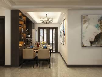 10-15万140平米四室四厅轻奢风格餐厅设计图