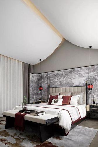 80平米美式风格卧室欣赏图