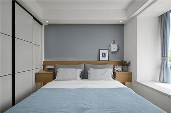 富裕型70平米北欧风格卧室图片大全