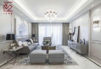 富裕型140平米四室两厅北欧风格客厅设计图