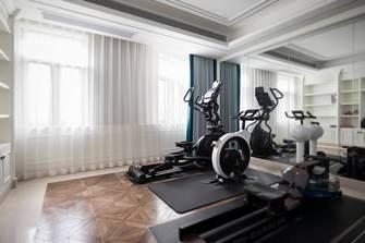 140平米别墅美式风格健身房图