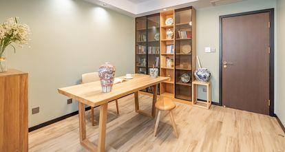 豪华型130平米三室两厅中式风格书房装修图片大全