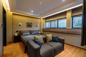 120平米三室两厅港式风格卧室装修效果图