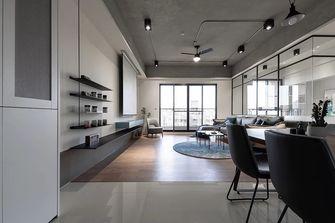90平米轻奢风格客厅图片