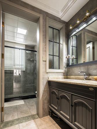 富裕型110平米一室一厅北欧风格卫生间图片