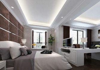 富裕型140平米三室两厅欧式风格卧室图片大全