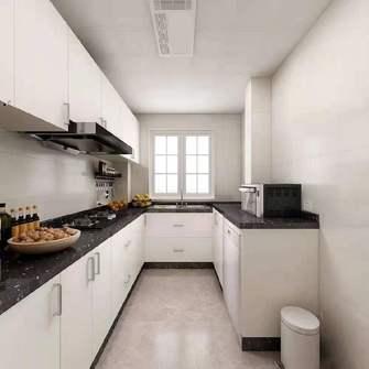 90平米中式风格厨房设计图