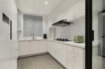 10-15万110平米四室四厅现代简约风格厨房图片大全