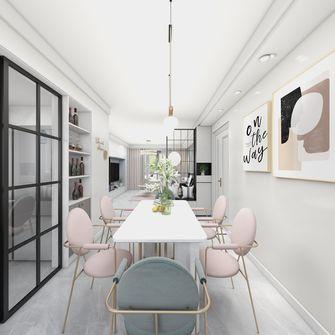 10-15万90平米轻奢风格餐厅装修效果图