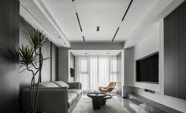 15-20万100平米三室一厅现代简约风格客厅欣赏图