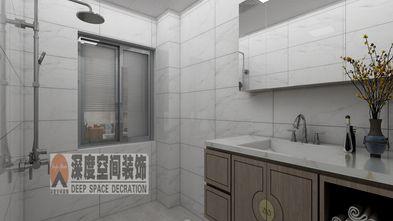 经济型80平米三室两厅中式风格卫生间设计图