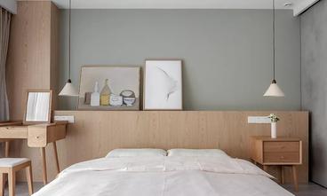 富裕型120平米三室两厅北欧风格卧室图片大全
